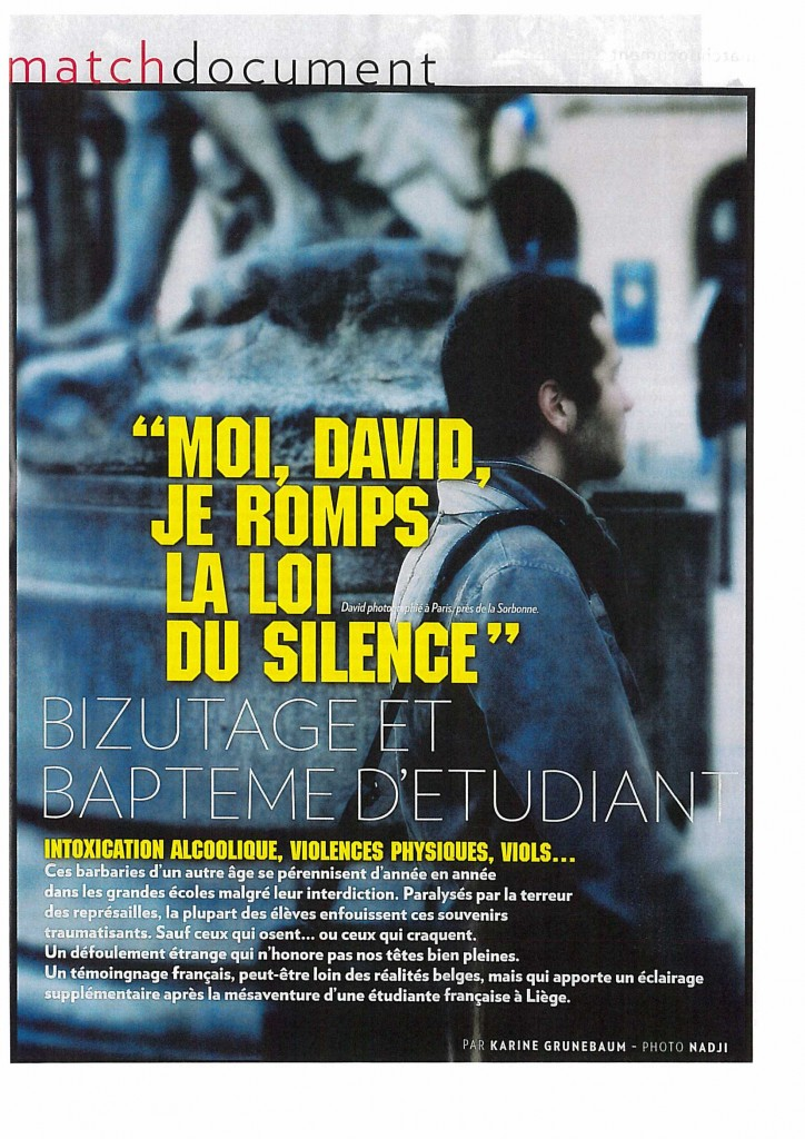 20131128 - PARIS MATCH n638_Bizutage et Bapteme étudiants (1)